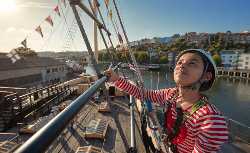Brunel's SS Great Britain - how to have a pirate-themed day out in Bristol