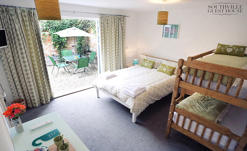 Family room at Southville Guesthouse in Bristol