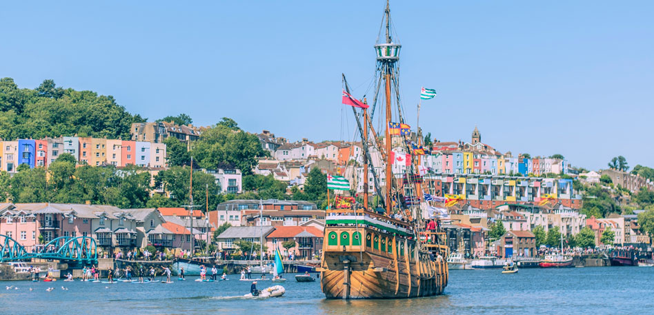 Visit Bristol - Interesting facts about bristol - Matthew ship Bristol harbour festival - CREDIT Jim Cossey photography