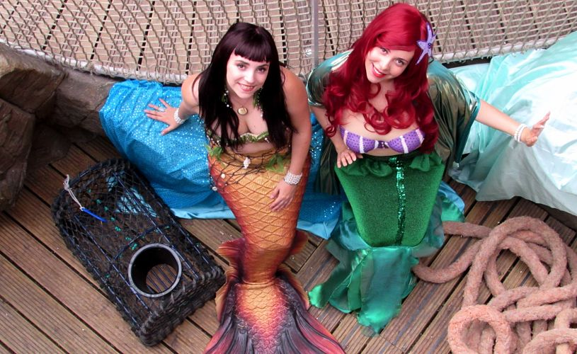 Mermaids at Bristol Aquarium