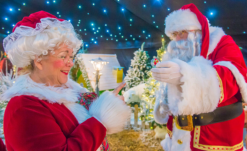 Avon Valley Christmas - where to see Santa in Bristol this Christmas