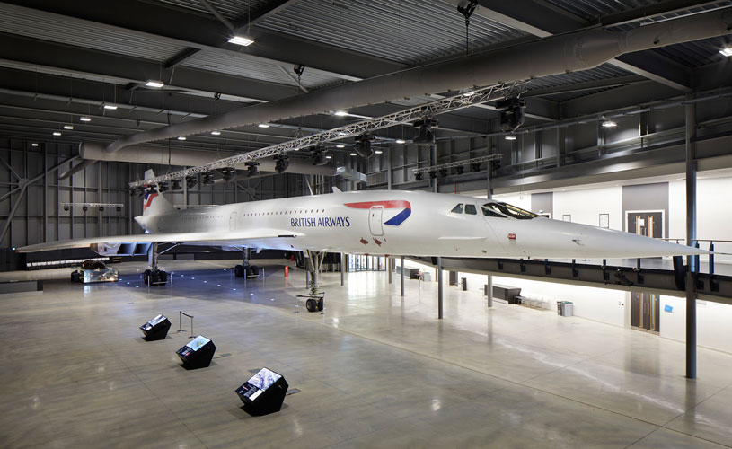 Concorde Hangar at Aerospace Bristol