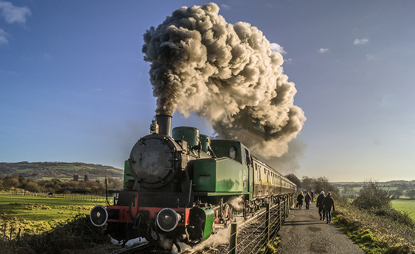 Avon Valley Railway Twixmas activities in Bristol