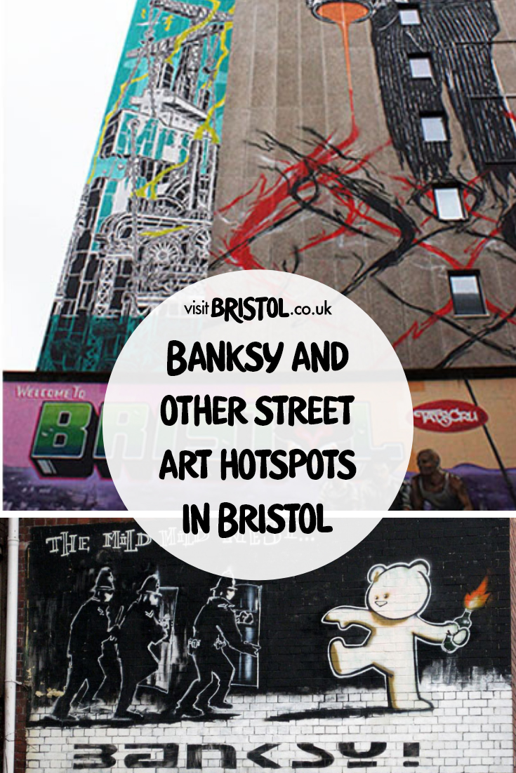 Banksy and other street art hotspots in Bristol