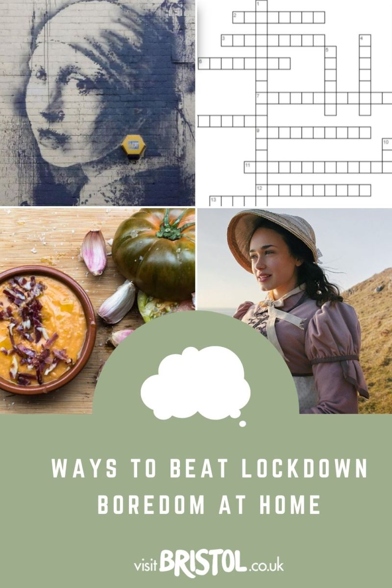 Ways to beat lockdown boredom at home