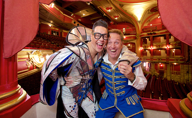 Brian Conley & Gok Wan - Cinderella - The Bristol Hippodrome - things to do in Bristol for twixmas