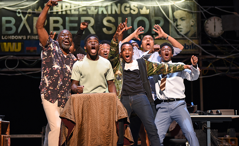 Casting Announced For Uk Tour Of Barber Shop Chronicles