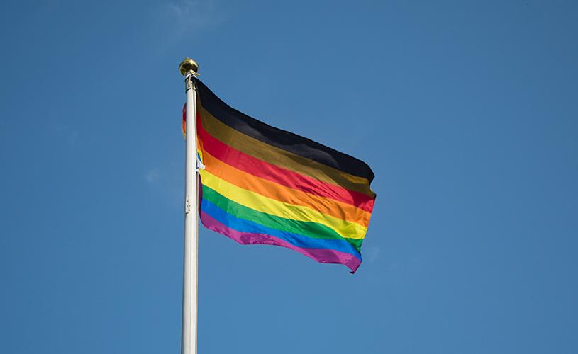 Bristol Pride Flag Raising by Chris Orchard