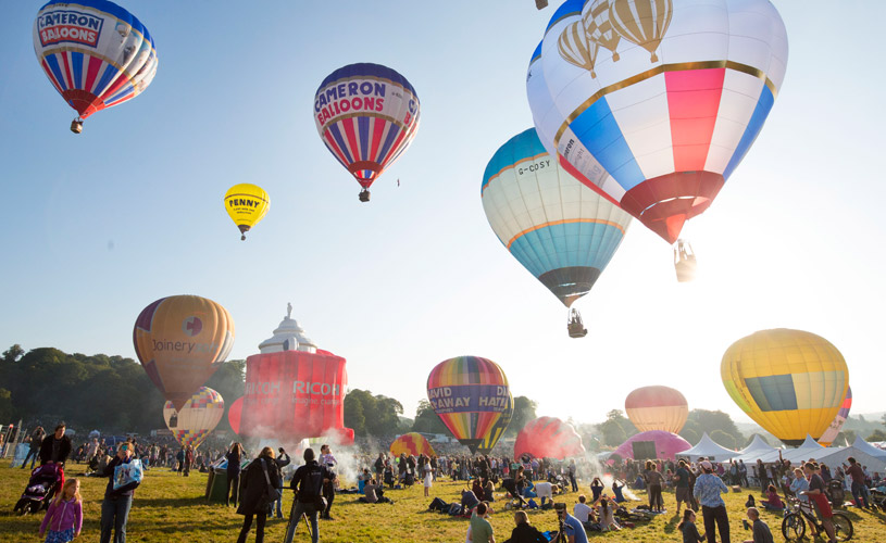 Bristol Balloon Fiesta - Credit Paul Box