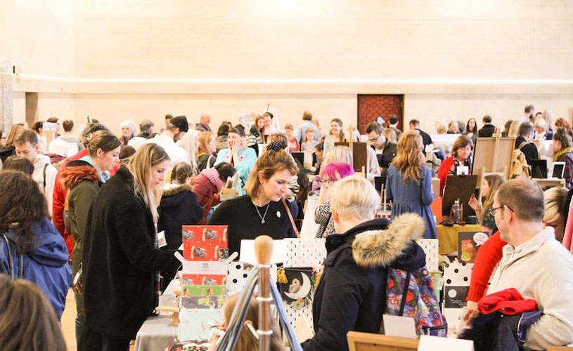 Etsy Made Local Bristol Christmas Market at City Hall