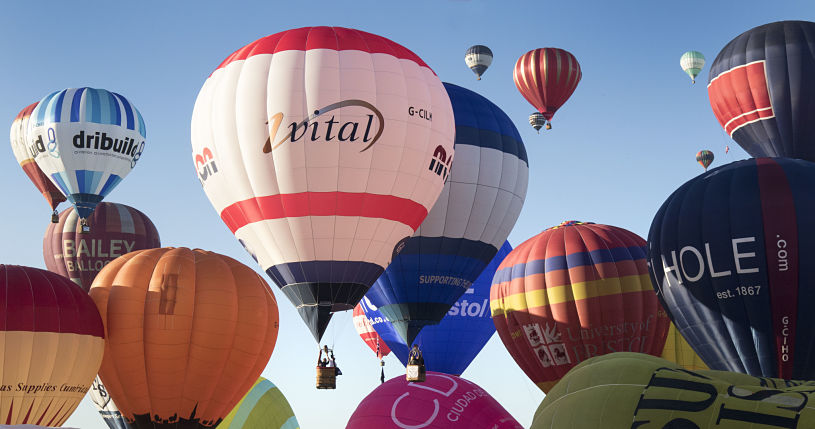 Bristol International Balloon Fiesta - Credit Paul Box