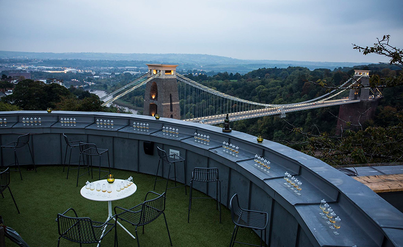 Clifton Observatory - 10 rooftops bars perfect for summer drinking in Bristol