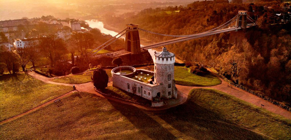 Visit Bristol interesting facts - Clifton Observatory