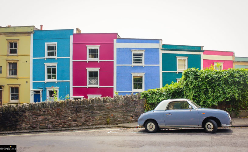 The Coloured House.The Local S Guide Cliftonwood Visit Bristol