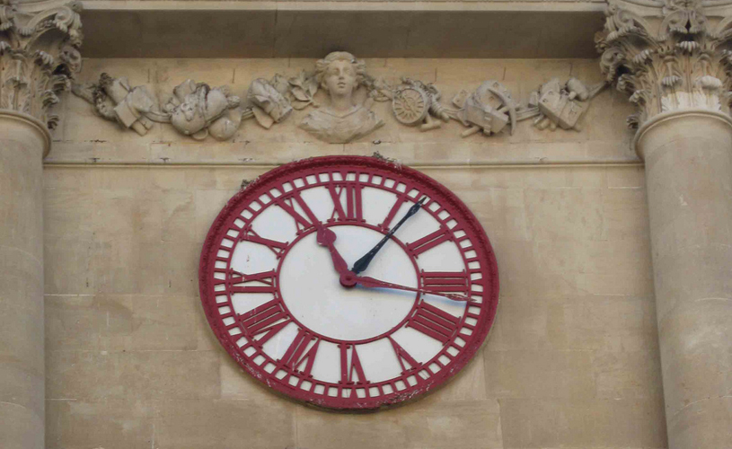 The Exchange clock