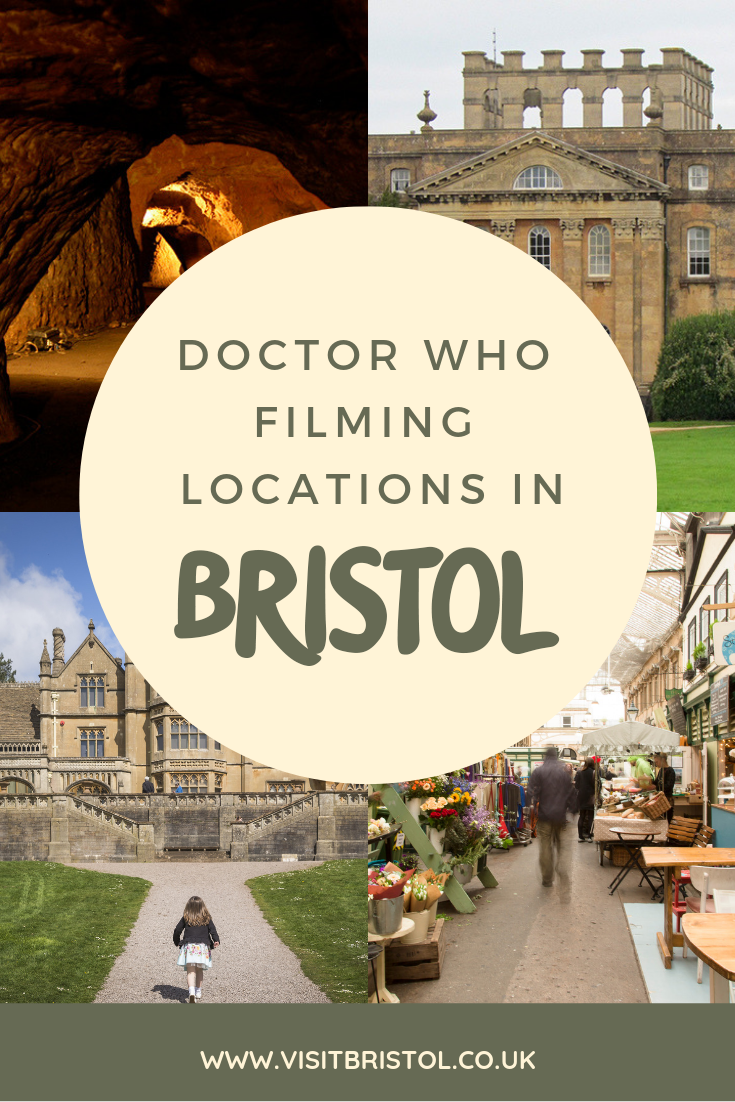 Doctor who filming locations in Bristol Pinterest image