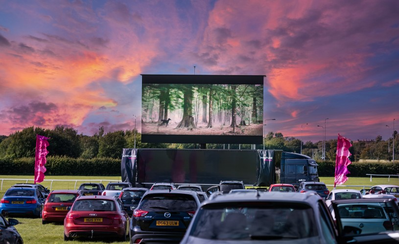 Drive-In Cinema: Halloween Week at the former Bristol Airfield Filton with Adventure Cinema