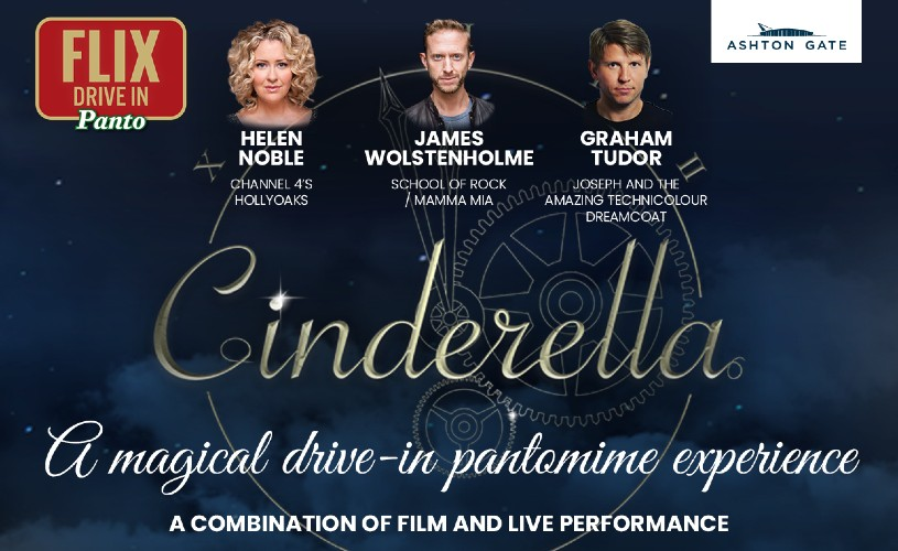 Flix Drive-In Panto: Cinderella at Ashton Gate Stadium