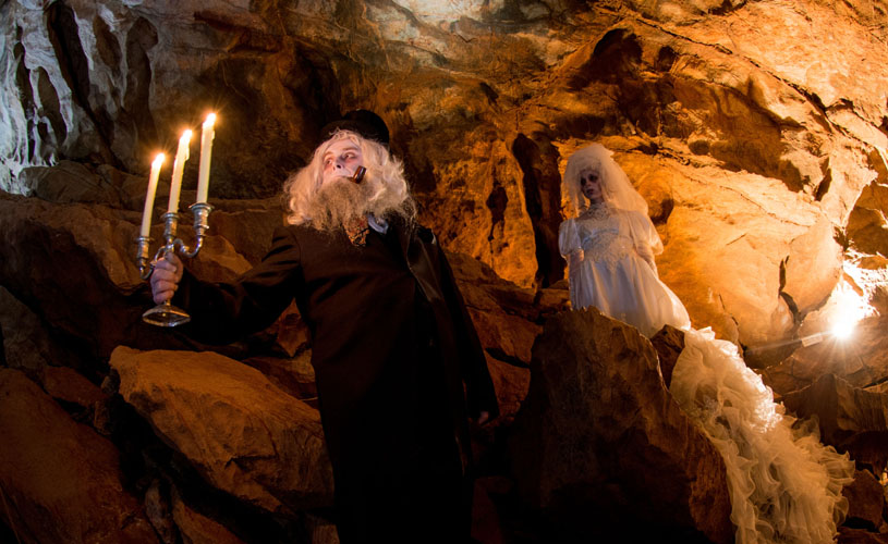 Fright Nights in Gough's Cave