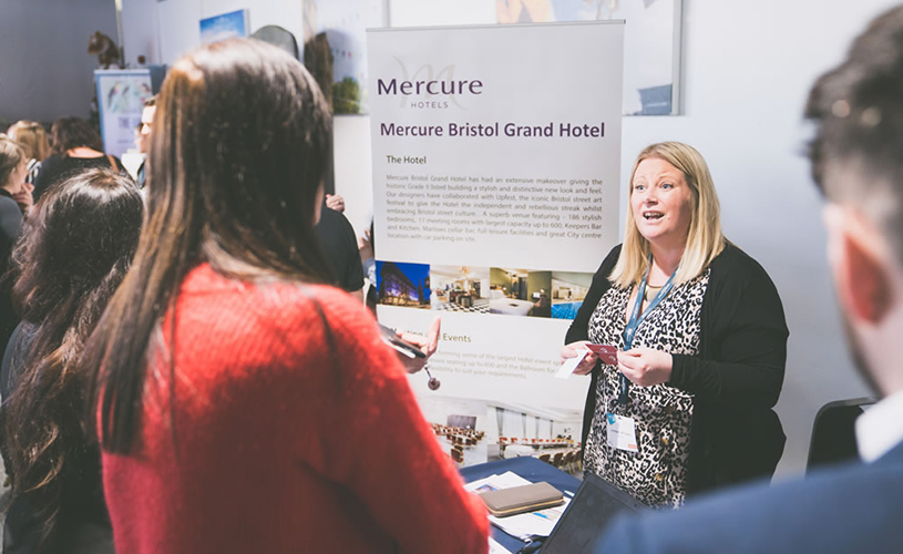 Mercure Bristol Grand stand at MEET South West