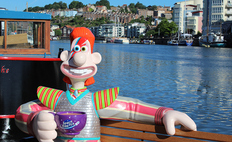 Gromit Unleashed 2 - Bristol Boat chase
