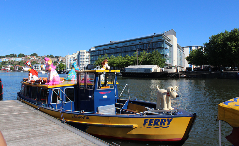 Gromit unleashed 2 bristol ferry boat