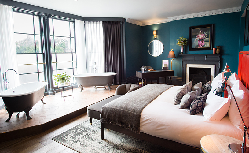 A luxurious bedroom at Avon Gorge by Hotel Du Vin