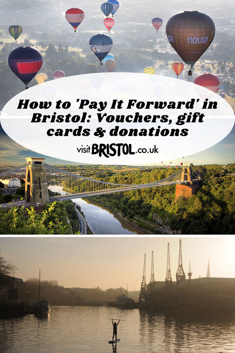 How to 'Pay It Forward' in Bristol: Vouchers, gift cards & donations