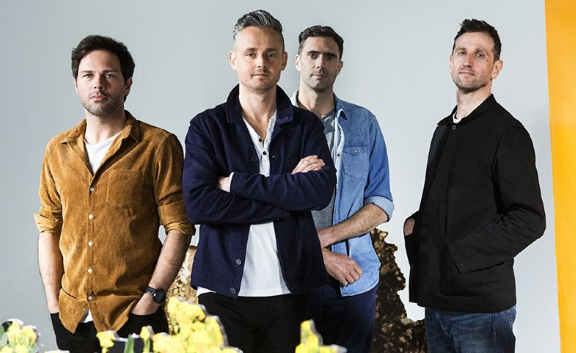Four members of the band Keane