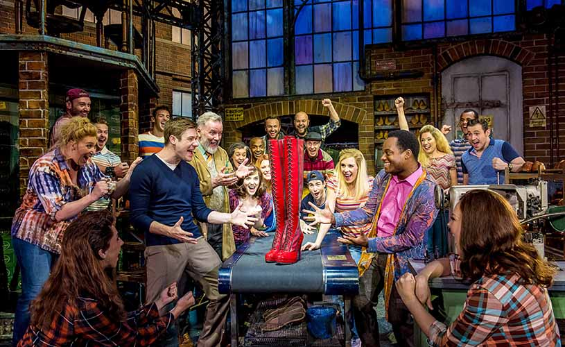 Kinky boots - whats on february 2019