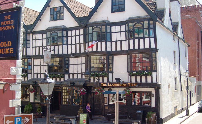 Llandoger Trow - how to have a pirate themed day out in Bristol