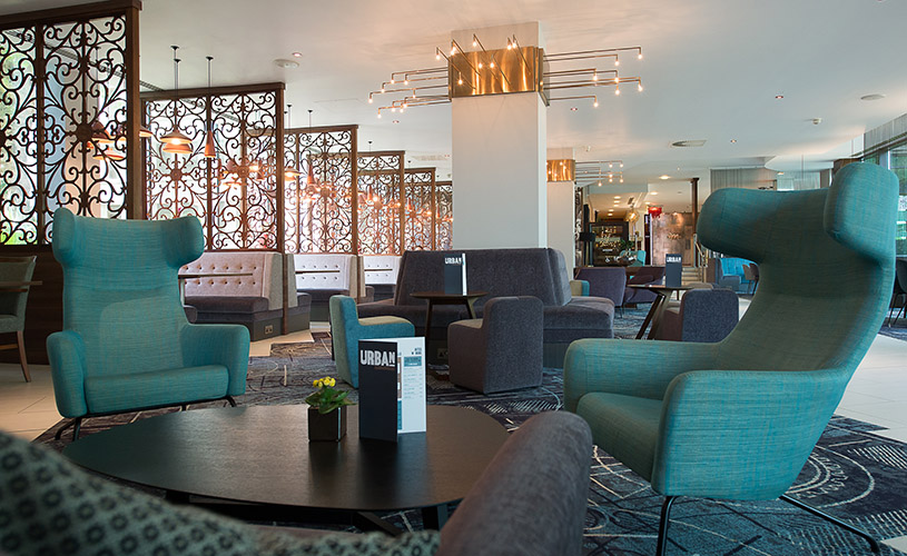 The Urban Bar and Kitchen at Mercure Bristol Holland House Hotel