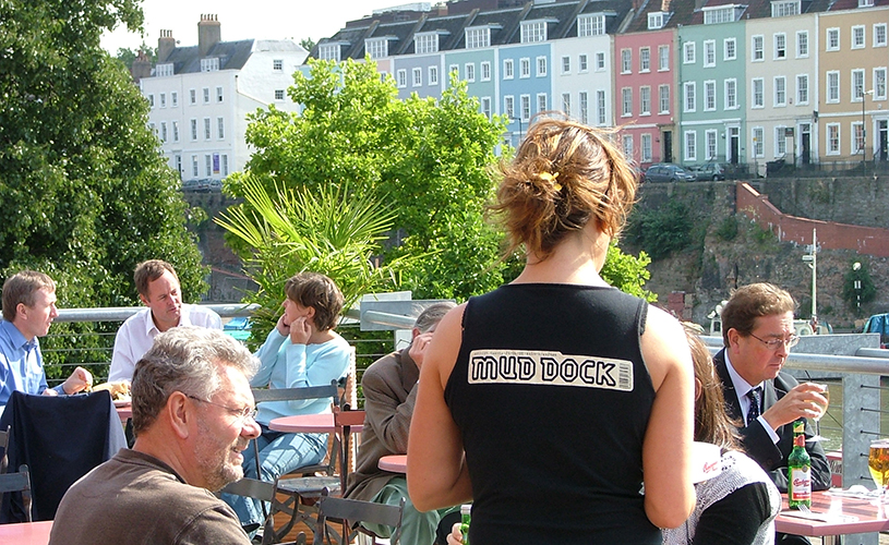 Mud Dock - 10 rooftops bars perfect for summer drinking in Bristol