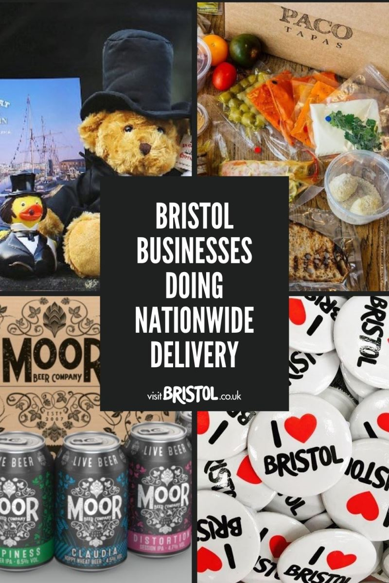 Bristol businesses doing nationwide delivery