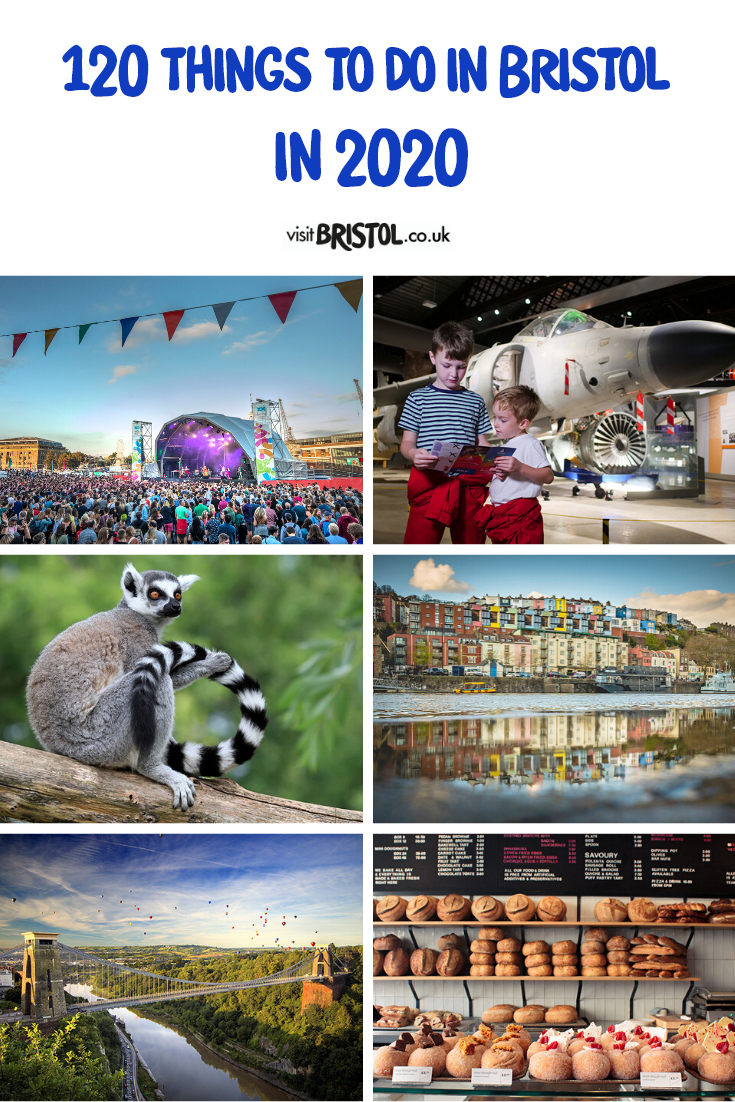 Things to do in 2020 in Bristol Pinterest image