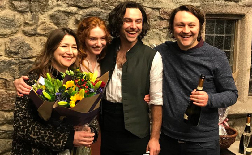 Poldark wrap at The Bottle Yard Studios credit BBC Mammoth Screen