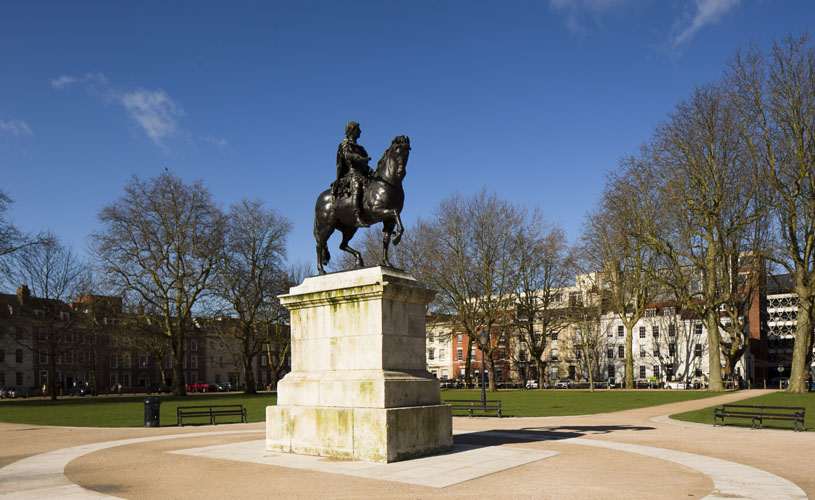 Queen Square - A-Z of Bristol