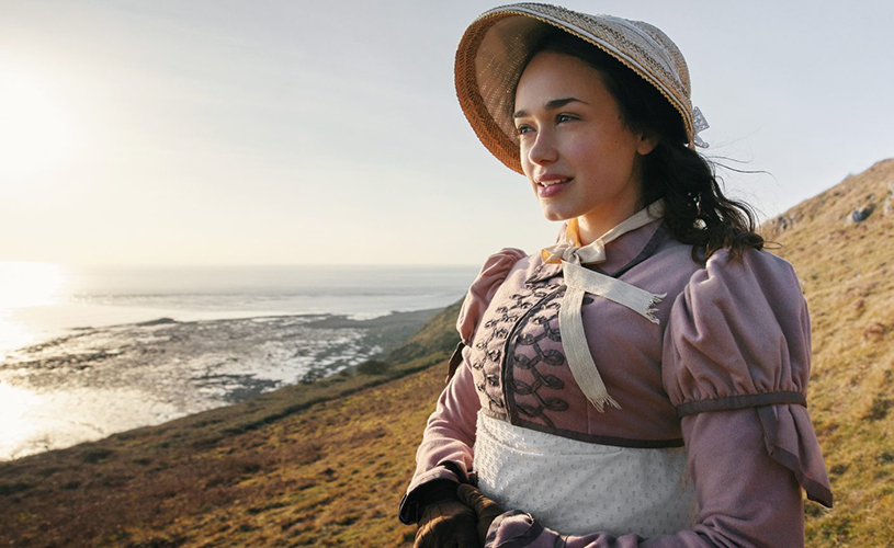 Rose Williams as Charlotte Heywood in ITV's Sanditon