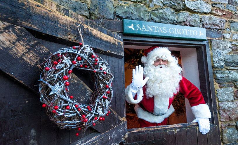 Santa's coming to Slimbridge - Where to see Santa in Bristol