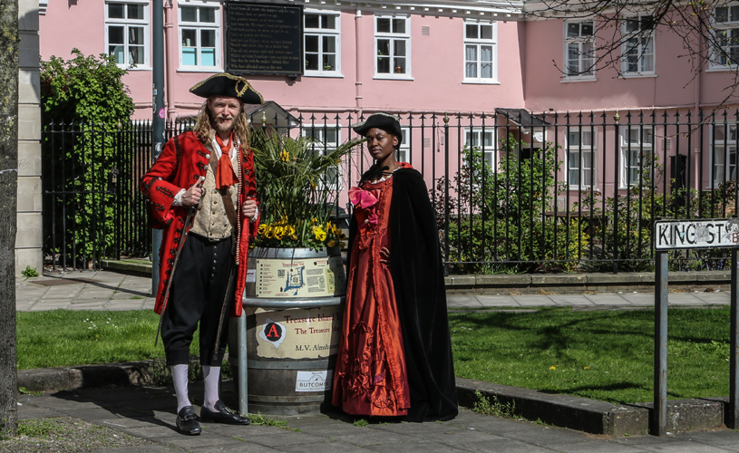 Treasure Island Story walk  - how to have a pirate themed day out in Bristol