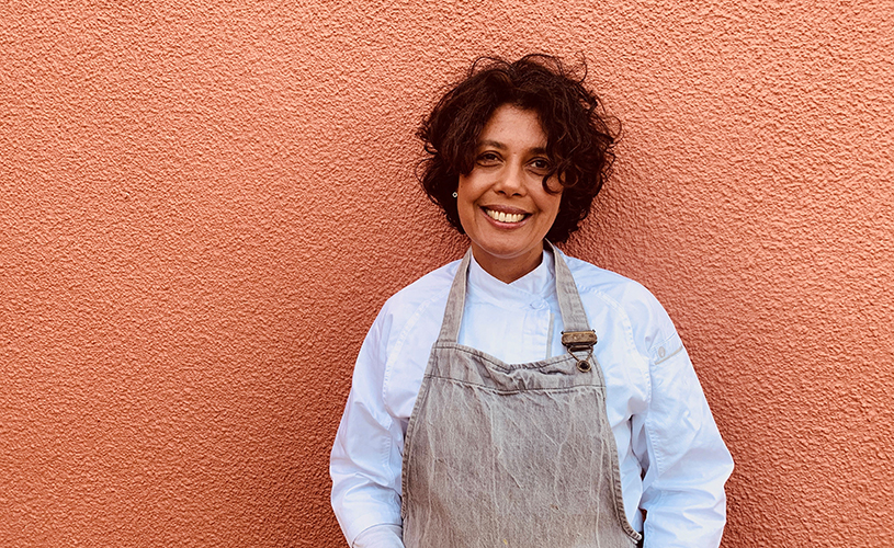 Sonya Devi-Clarke, founder and head chef of The Vegetable Diva