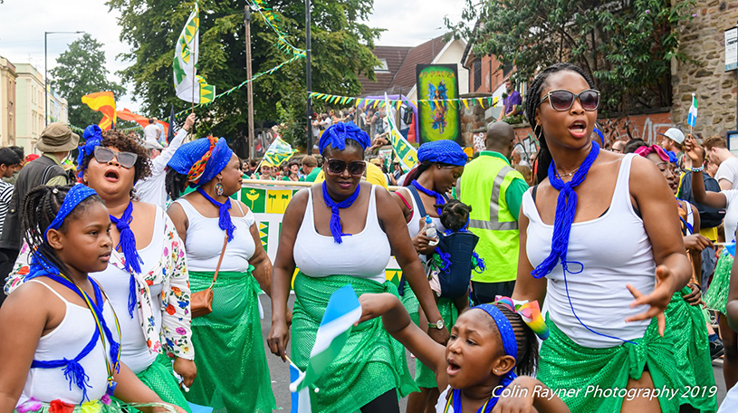 Our Journey brought to life at St Pauls Carnival 2019. Credit Colin Rayner