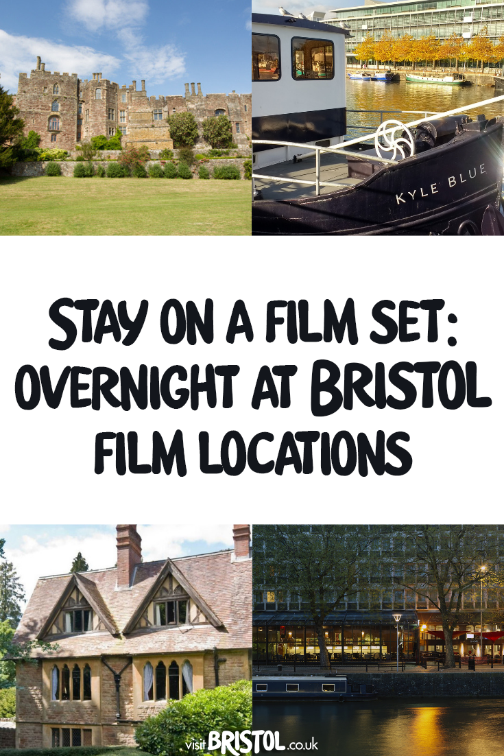 Stay on a film set: overnight at Bristol film locations