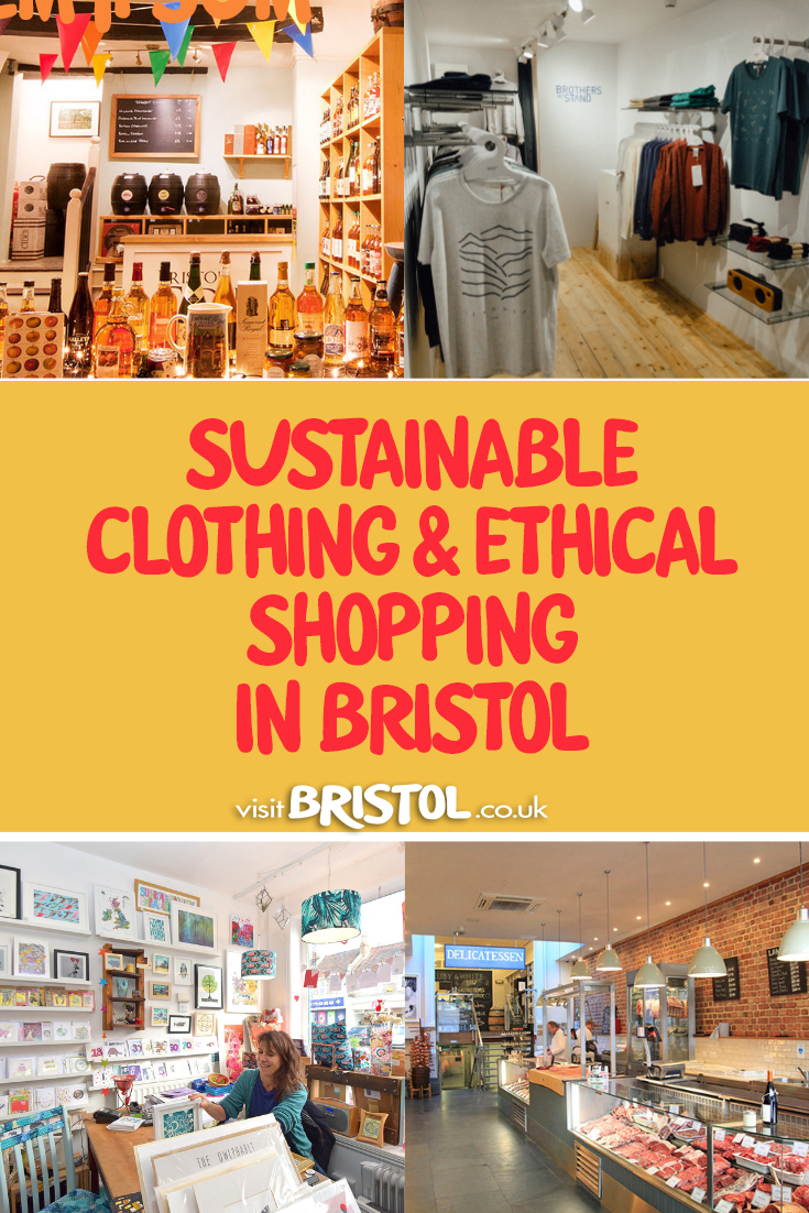 Sustainable clothes and ethical shopping in Bristol