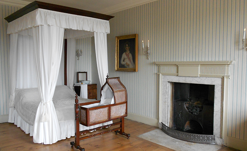 Bedroom in The Georgian House, Bristol