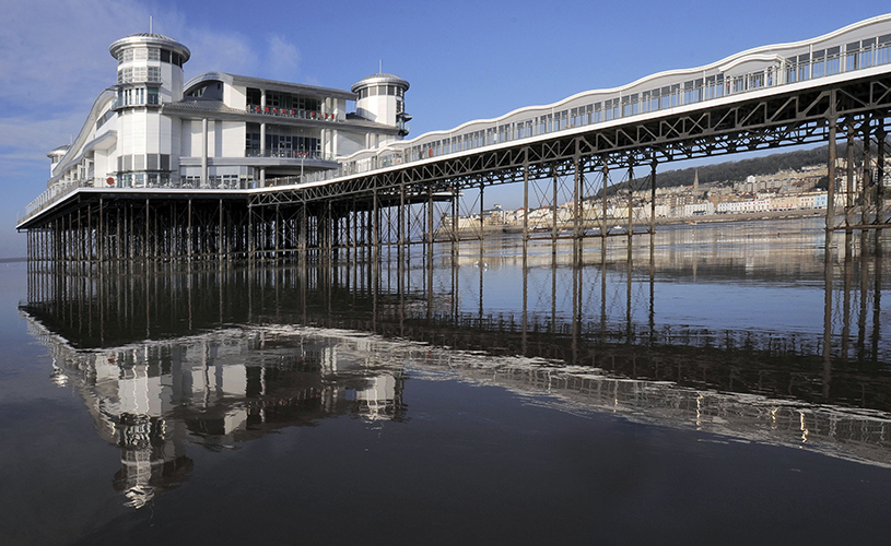 Weston Super Mare -  Grand Pier - Where to see Santa in Bristol this Christmas