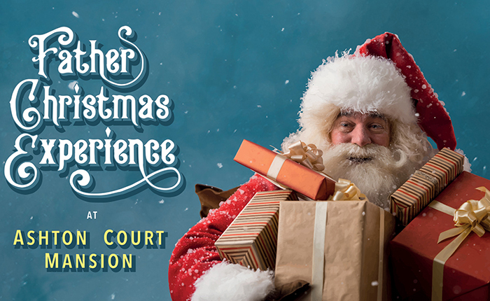 Father Christmas Experience at Ashton Court Mansion - Where to see Santa in Bristol this Christmas
