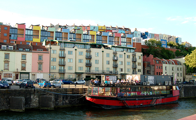 Grain Barge - 10 rooftops bars perfect for summer drinking in Bristol