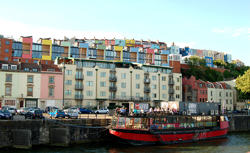 The Grain Barge_119 things to do in Bristol in 2019