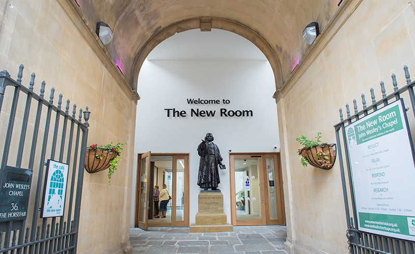 Entrance to John Wesley's Chapel, The New Room